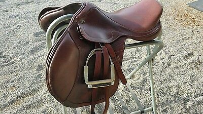 M Toulouse jumping saddle, WIDE