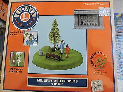 Lionel 6-24137 Mr Spiff And Puddles Operating Accessory O Scale Model Trains