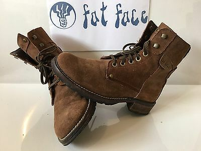 Fat Face Quality Leather Boots  Size UK 7 EU 41