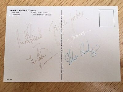 Autograph Men's GB Coxless Four Olympic gold Medal 2000