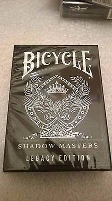SHADOW MASTERS LEGACY EDITION Playing Cards Ellusionist NEW SEALED poker