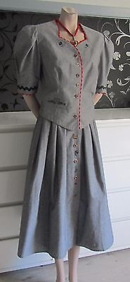 Exclusive German Austrian Trachten Skirt and Bodice Outfit 12