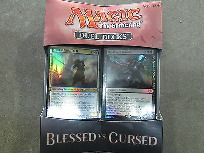 Magic The Gathering Duel Deck Blessed Vs Cursed Factory Sealed Deck