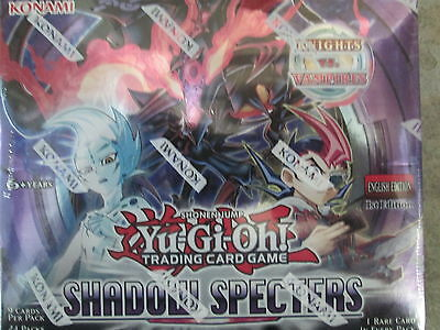 Yugioh Shadow Specters 1St Ed Sealed Booster Box