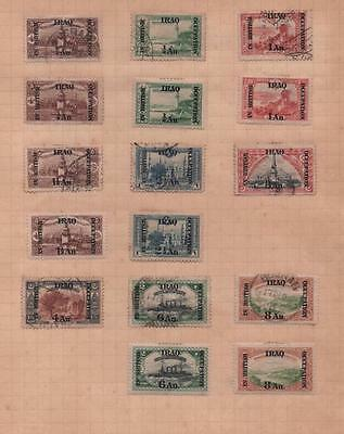 IRAQ: Occupation Overprint Examples - Ex-Old Time Collection - Album Page (6864)