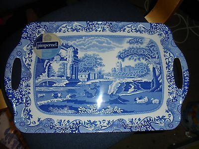 Spode Blue Italian  large serving tray BNWT
