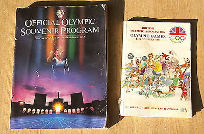 Los Angeles Olympic Games 1984 Official Guide & Souvenir Programme Programme