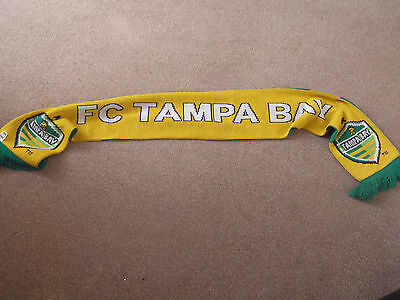 Tampa Bay F.C. American Soccer Scarf. Excellent Condition.