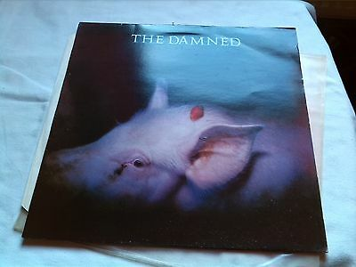 The Damned Strawberries Legacy Red Vinyl 1986 Ex+ Punk Sex Pistols Uk Subs Ruts