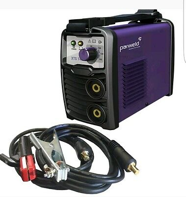 Parweld XTS142 140A Portable Stick Welder Over The Shoulder Small MMA Site Arc