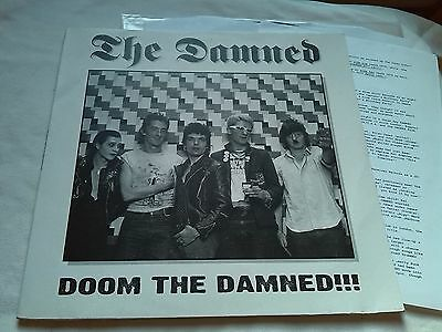 The Damned Doom The Damned!!! Live 1979 London Ex+ Punk Sex Pistols Uk Subs 999