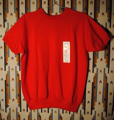 Vintage 80s Deadstock Short Sleeve Sweatshirt Hip Hip Hipsters by Action USA Sz