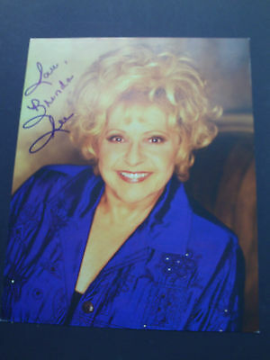 Brenda Lee Genuine Signed 10X8 Photograph