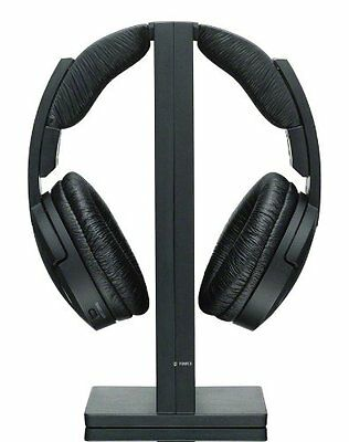 Sony MDRRF985RK Black Wireless Over-Ear Headphones for home theatre