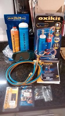 Unused Kemper gas welding and brazing kit Oxykit model 555 – with accessories