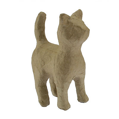 Decopatch AP600 Decoupage Papier Mache Animal Extra Small Standing Cat