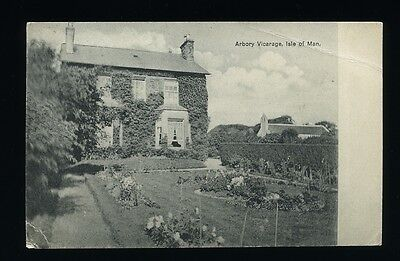 Isle of Man - Arbory Vicarage. Posted 1912