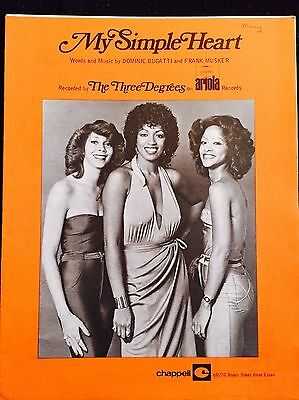 My Simple Heart The Three Degrees sheet music