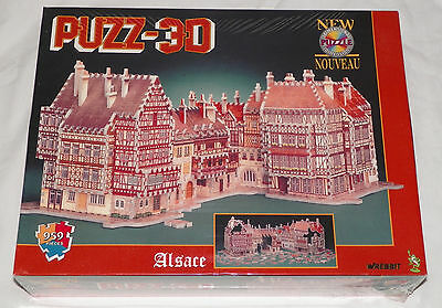 Wrebbit ALSACE Puzz 3D Jigsaw Puzzle Sealed New (Scratched Box)