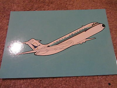 North Central Airlines Dc9 Postcard New Mint