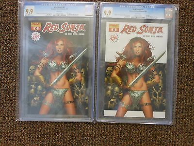 Red Sonja 2005 CGC 9.9 set