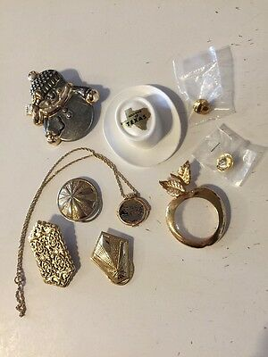 Lot Of Vintage To New Jewelry And Souvenir