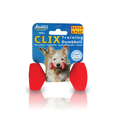 Company of Animals Clix Dog/Puppy Dumbbell - Retrieval - Gundog - Training