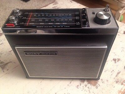 Vintage Sony Solid State Radio