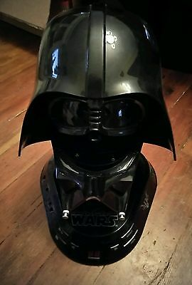 Star Wars Darth Vader CD/Player AM/FM Radio No Power Adaptor for Parts Repair