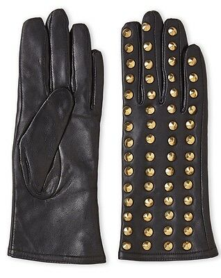 Surrell Studded Leather Gloves