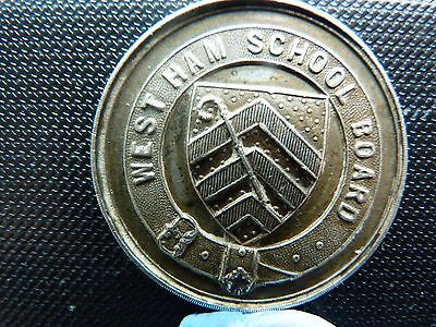 West Ham School Board Medal 1895-96-97