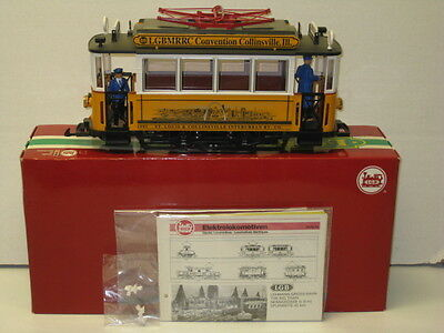 LGB # 2035CT Limited Edition 1995 Saint Louis Trolley Very Rare ,New Serial #370