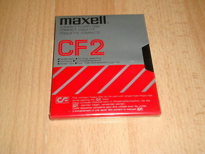 Amstrad Compact Floppy Disk Cf2 Maxell Made In Japan New Factory Sealed