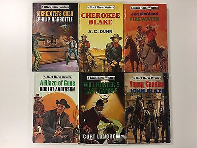 6 x Black Horse Western Hardback Collection