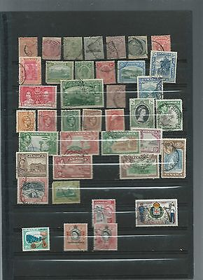 Lot of Stamps from Jamaica