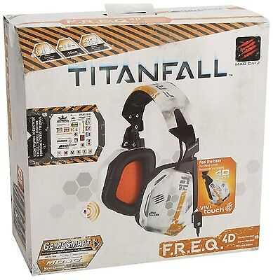 Mad Catz Titanfall F.R.E.Q.4D Stereo Headset for PC, Mac, XBOX, Play Station