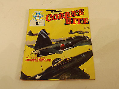 AIR ACE PICTURE LIBRARY,NO 466,1969 ISSUE,V GOOD FOR AGE,48 yrs old,V RARE COMIC