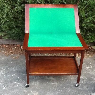 Vintage fold-over Card Table