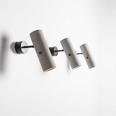 Concrete / Recycled Material - LED Wall Sconces - Modern Unique design