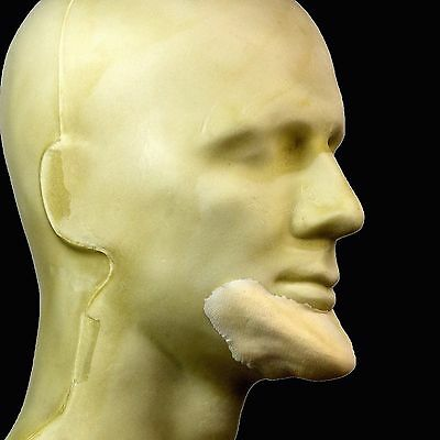 Rubber Wear Foam Latex Prosthetic - Elongated Chin FRW-121 - Makeup FX