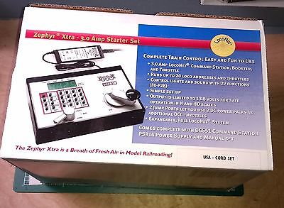 Digitrax Zephyr Xtra Complete DCC Starter Set System with 3.0 Amp Power Supply