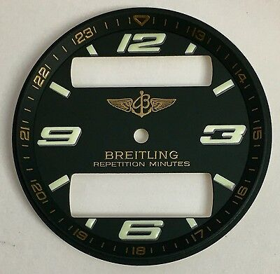 Genuine Breitling Aerospace Repetition Minutes Green Dial Big Window 32.5Mm