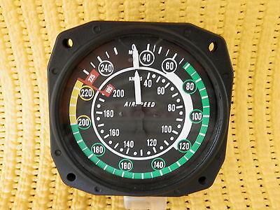 ASI - AIRSPEED INDICATOR - Perfect condition