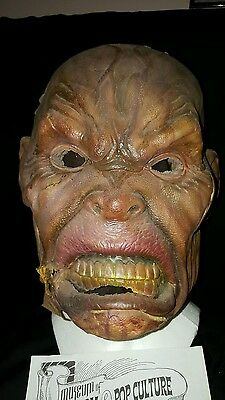 Lord of the rings screen used Original movie Orc mask with Coa