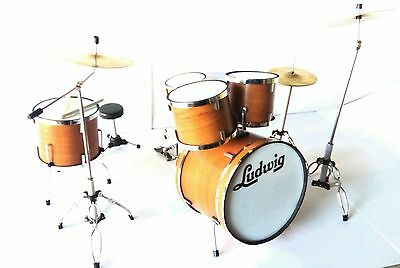 Ludwig Drum Set - Batteria in Miniatura - Miniature Drum Set - Mini Bateria