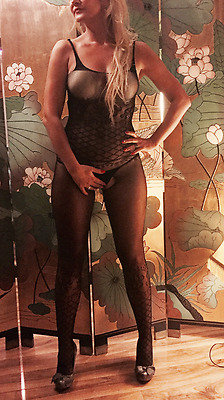 TATTOOED QUALITY Floral Bodysuit Tights Catsuit Bodystocking Lingerie S M L XL