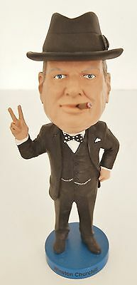 SIR WINSTON CHURCHILL Royal Bobble Bobble Heads WWII History 03231