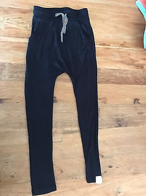 From Zion Black Slim Harems - Size 6