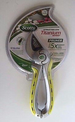 Scotts Ultimate Non Stick Titanium Pruner New In Package Model # 18903