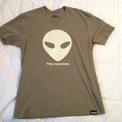 Foo Fighters Roswell 20th Anniversary Unisex T shirt with Foo Fighters koozies